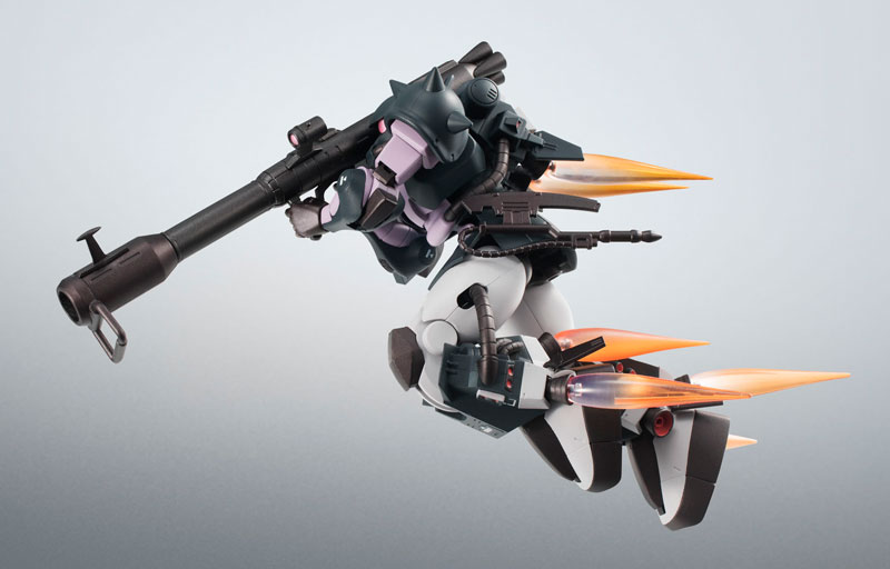 ROBOT魂〈SIDE MS〉『MS-06R-1A 高機動型ザクII ver. A.N.I.M.E.~黒い三連星~』機動戦士ガンダム モビルスーツバリエーション(MSV)可動フィギュア-007