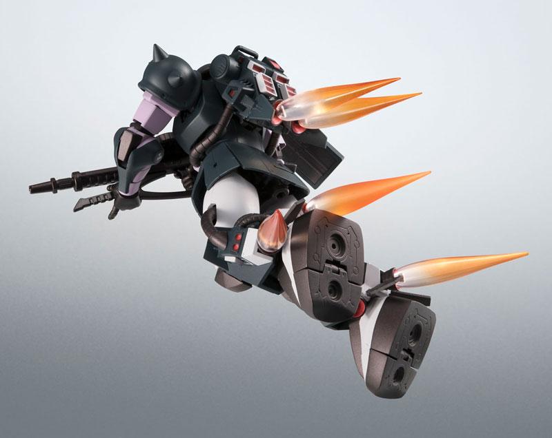 ROBOT魂〈SIDE MS〉『MS-06R-1A 高機動型ザクII ver. A.N.I.M.E.~黒い三連星~』機動戦士ガンダム モビルスーツバリエーション(MSV)可動フィギュア-009