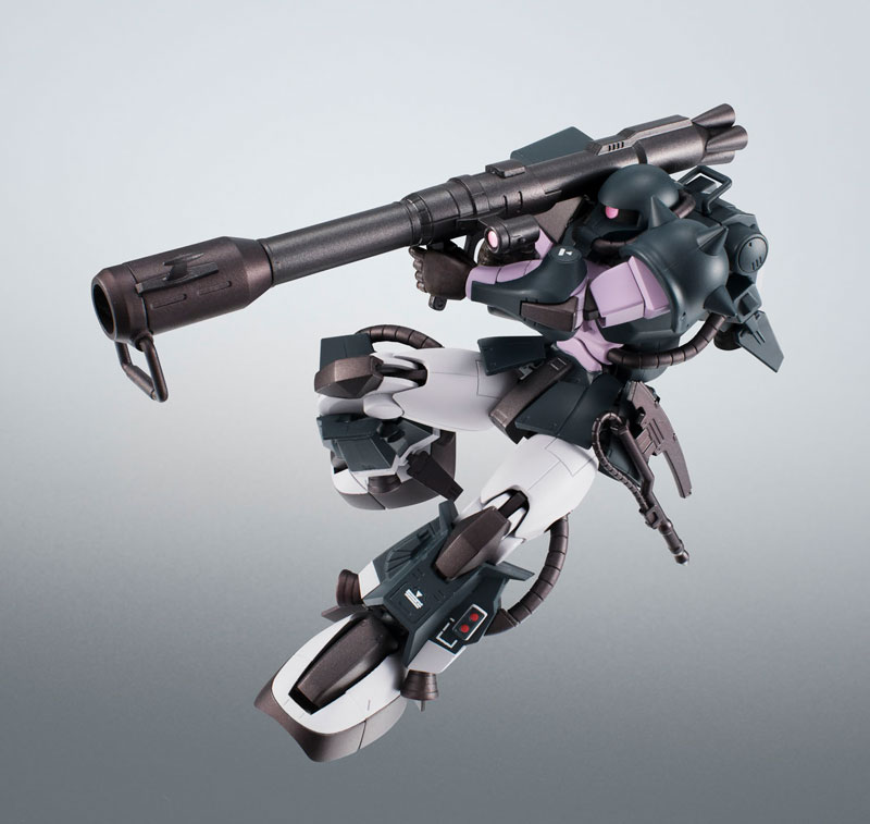 ROBOT魂〈SIDE MS〉『MS-06R-1A 高機動型ザクII ver. A.N.I.M.E.~黒い三連星~』機動戦士ガンダム モビルスーツバリエーション(MSV)可動フィギュア-010