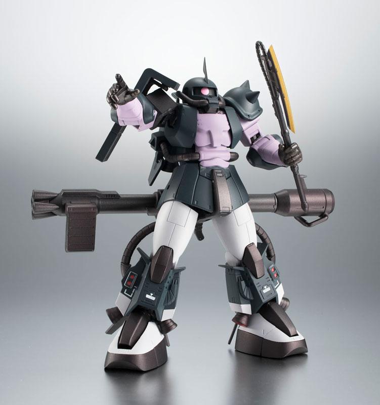 ROBOT魂〈SIDE MS〉『MS-06R-1A 高機動型ザクII ver. A.N.I.M.E.~黒い三連星~』機動戦士ガンダム モビルスーツバリエーション(MSV)可動フィギュア-012