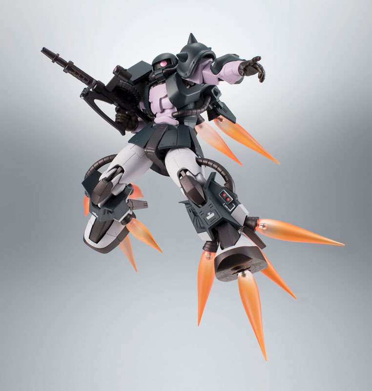 ROBOT魂〈SIDE MS〉『MS-06R-1A 高機動型ザクII ver. A.N.I.M.E.~黒い三連星~』機動戦士ガンダム モビルスーツバリエーション(MSV)可動フィギュア-015