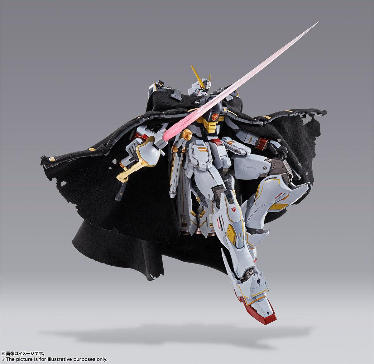 METAL BUILD『クロスボーン・ガンダムX1』機動戦士クロスボーン・ガンダム 可動フィギュア-003