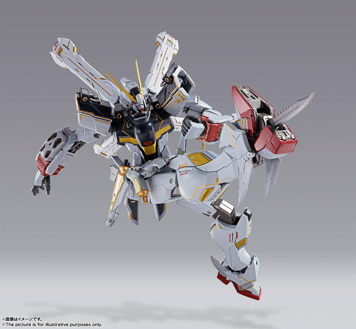 METAL BUILD『クロスボーン・ガンダムX1』機動戦士クロスボーン・ガンダム 可動フィギュア-007