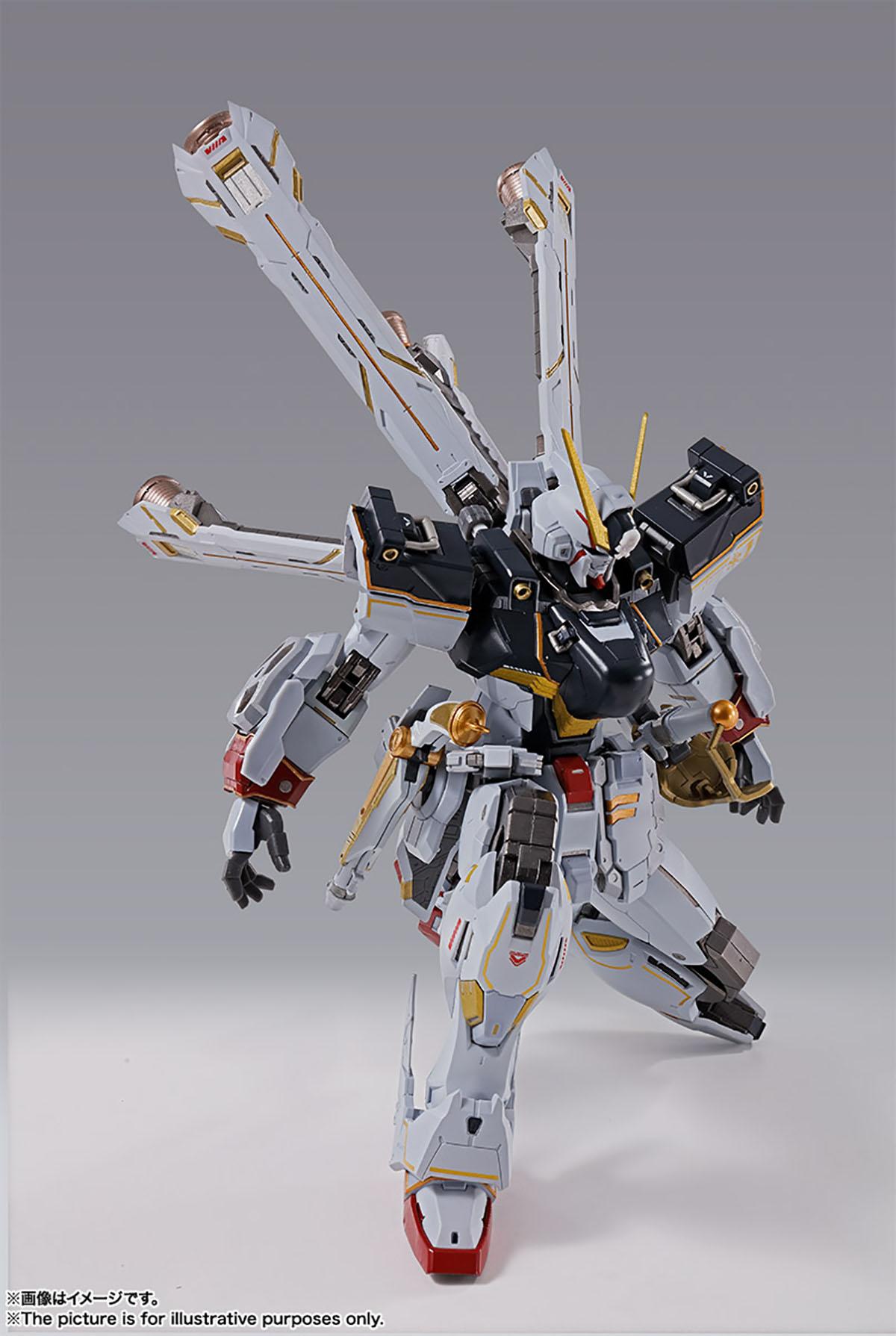 METAL BUILD『クロスボーン・ガンダムX1』機動戦士クロスボーン・ガンダム 可動フィギュア-009
