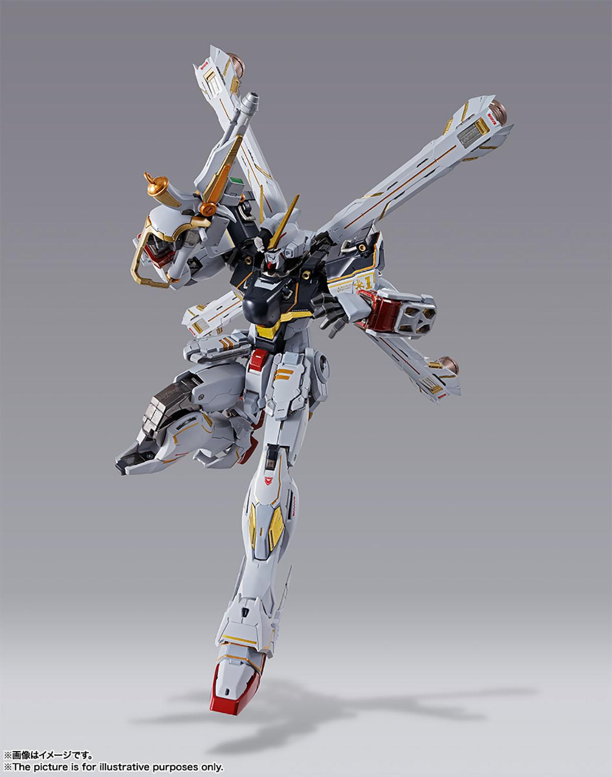 METAL BUILD『クロスボーン・ガンダムX1』機動戦士クロスボーン・ガンダム 可動フィギュア-010