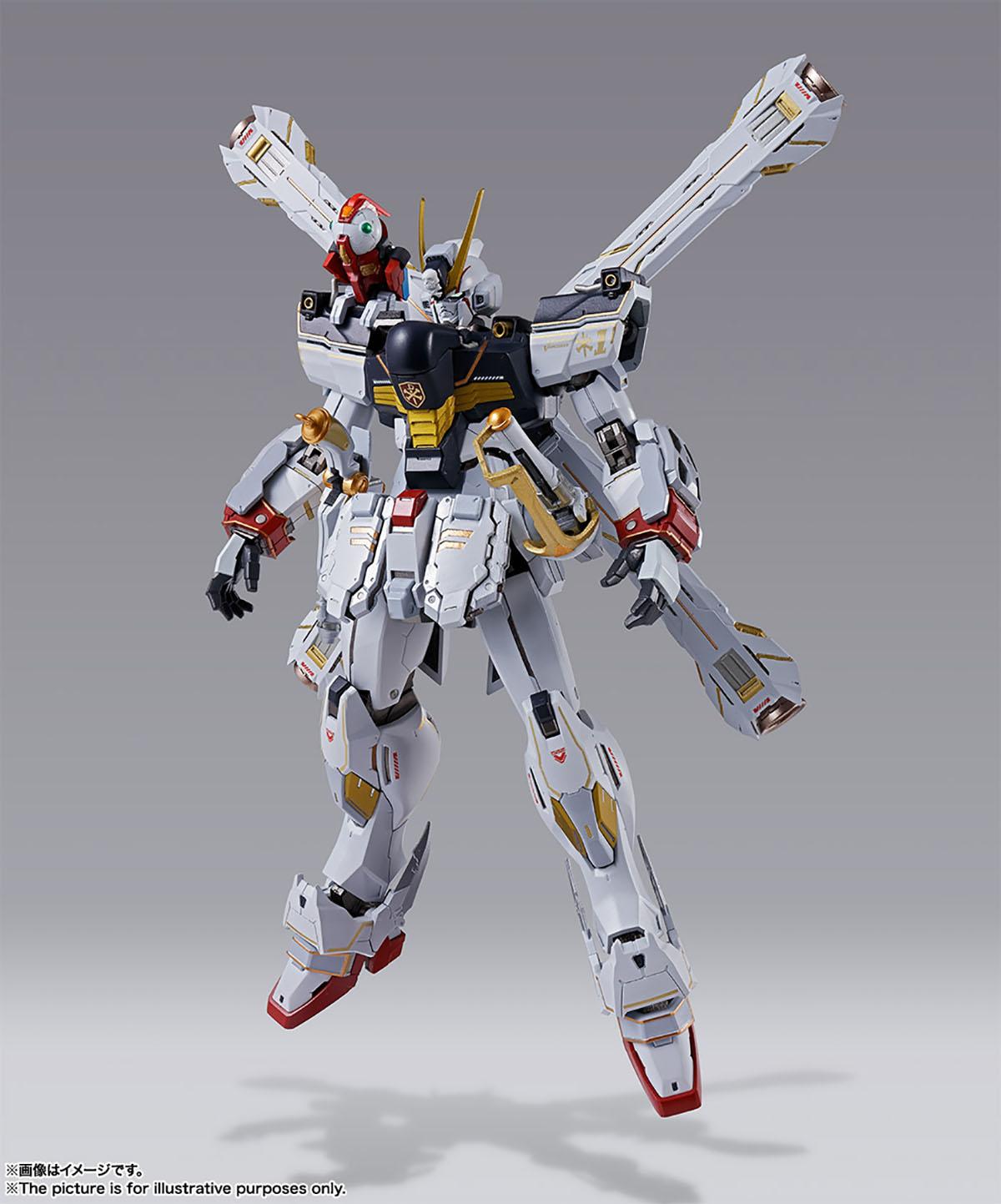 METAL BUILD『クロスボーン・ガンダムX1』機動戦士クロスボーン・ガンダム 可動フィギュア-011