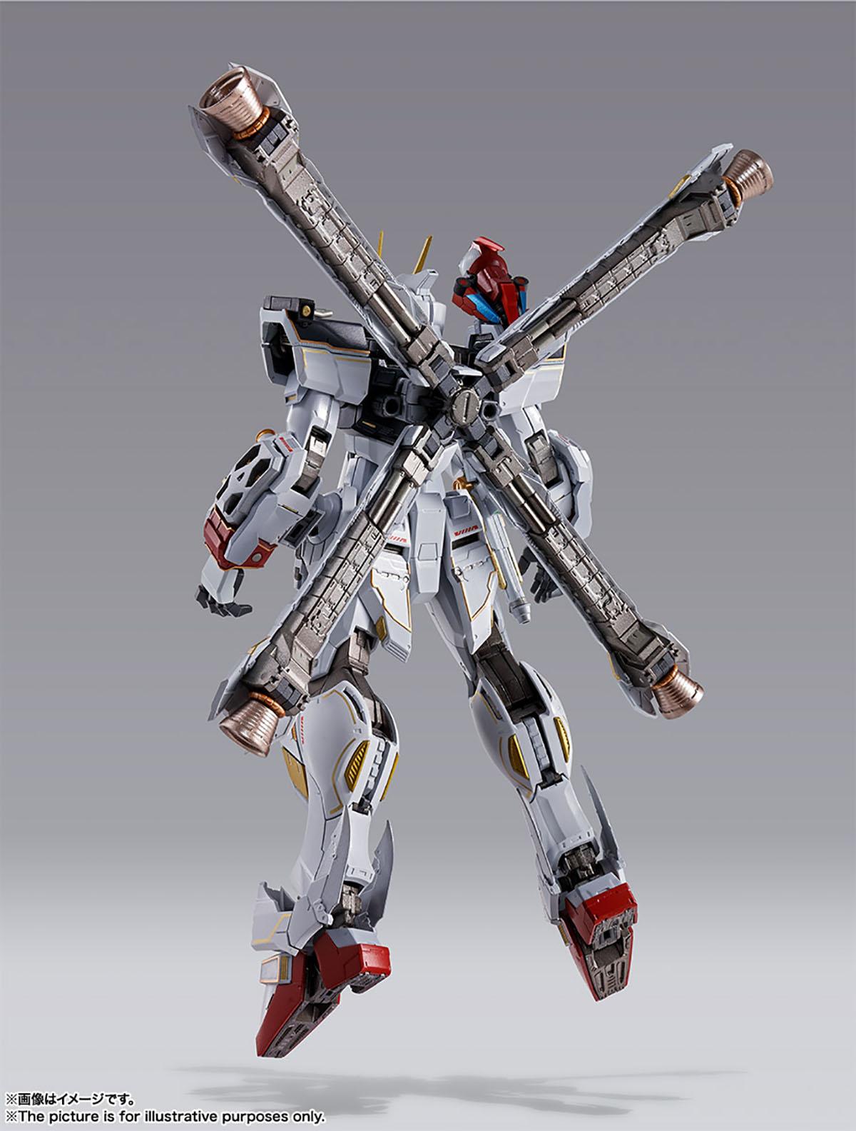 METAL BUILD『クロスボーン・ガンダムX1』機動戦士クロスボーン・ガンダム 可動フィギュア-012