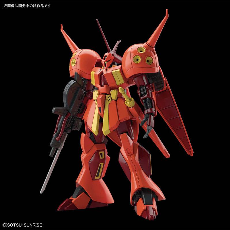 HGUC 1/144『R・ジャジャ プラモデル』機動戦士ガンダムZZ プラモデル-002