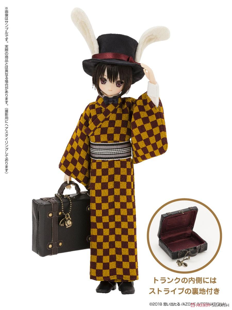 えっくす☆きゅーと ふぁみりー『Alice'sTeaParty 帽子屋~大正浪漫~/あおと』1/6 完成品ドール-002