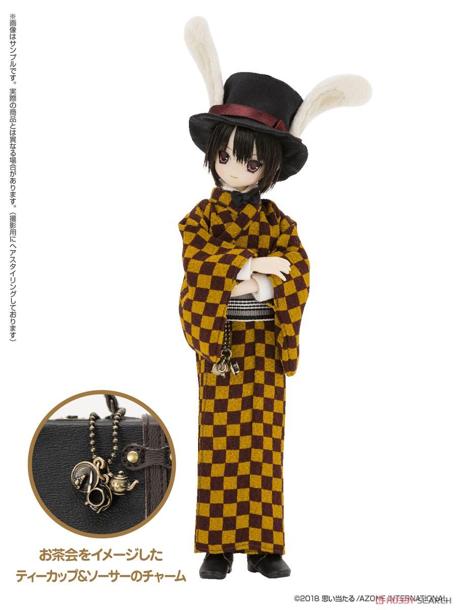 えっくす☆きゅーと ふぁみりー『Alice'sTeaParty 帽子屋~大正浪漫~/あおと』1/6 完成品ドール-003