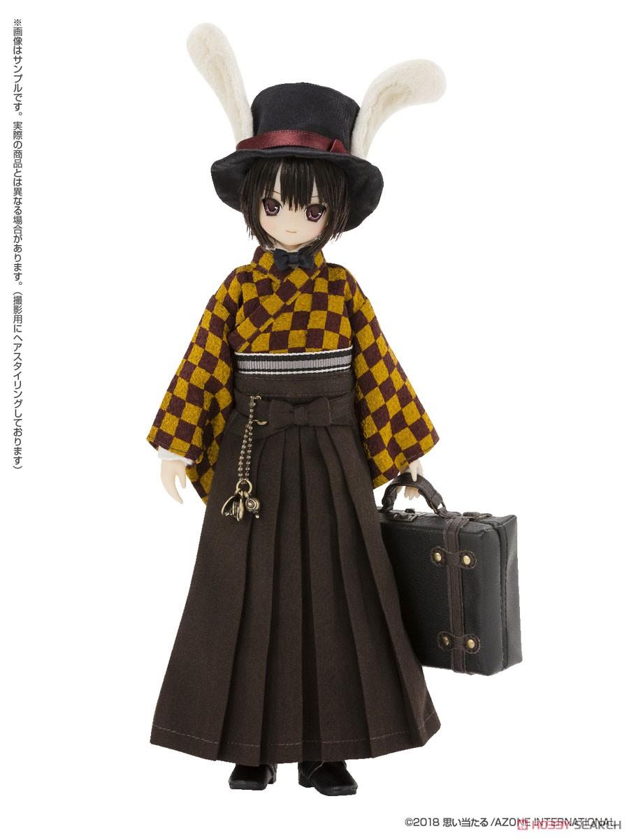 えっくす☆きゅーと ふぁみりー『Alice'sTeaParty 帽子屋~大正浪漫~/あおと』1/6 完成品ドール-004