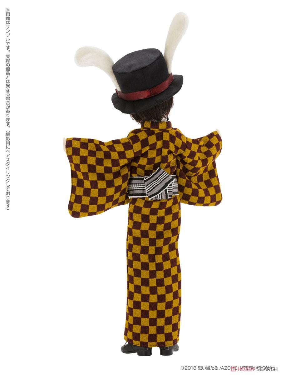 えっくす☆きゅーと ふぁみりー『Alice'sTeaParty 帽子屋~大正浪漫~/あおと』1/6 完成品ドール-007