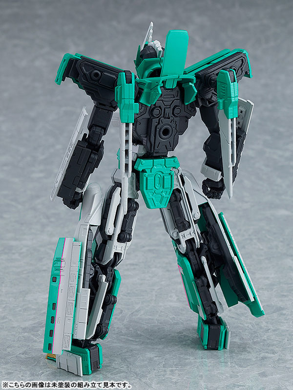 MODEROID『E5はやぶさ』新幹線変形ロボ シンカリオン プラモデル-008