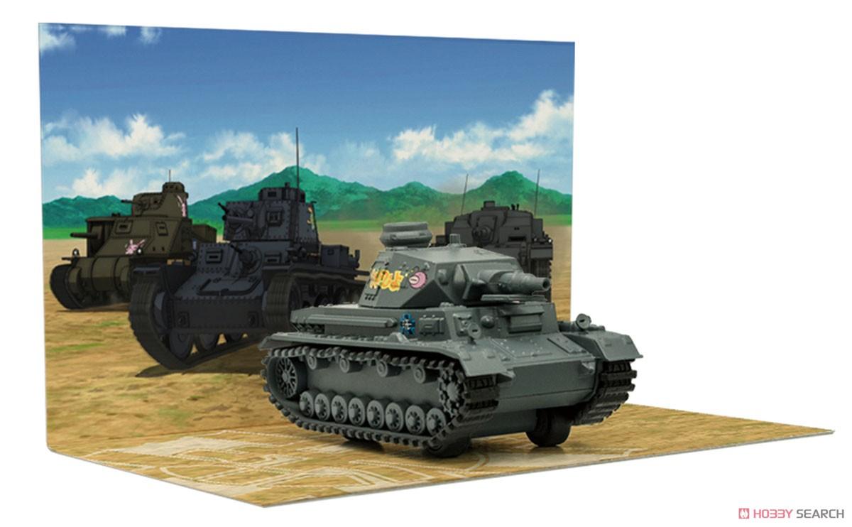 【再販】【食玩】ガールズ&パンツァー 最終章『プルバックタンク Vol.2.5』組み立てモデル 10個入りBOX-009