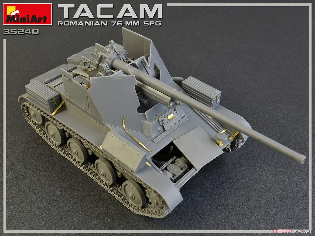 1/35『ルーマニア 76ミリ自走砲 TACAM T-60 フルインテリア』プラモデル-016