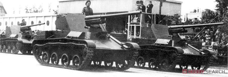 1/35『ルーマニア 76ミリ自走砲 TACAM T-60 フルインテリア』プラモデル-018