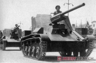 1/35『ルーマニア 76ミリ自走砲 TACAM T-60 フルインテリア』プラモデル-020