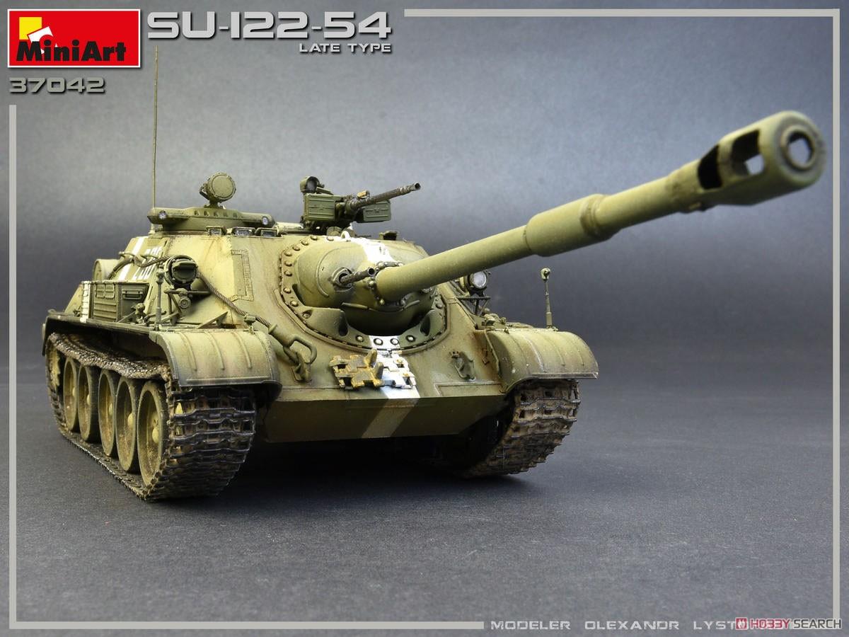 1/35『SU-122-54後期型』プラモデル-002