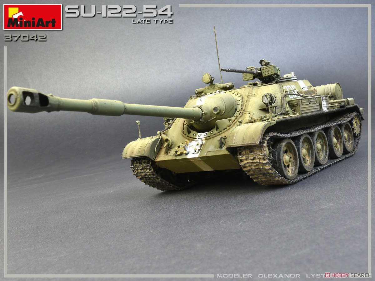 1/35『SU-122-54後期型』プラモデル-003