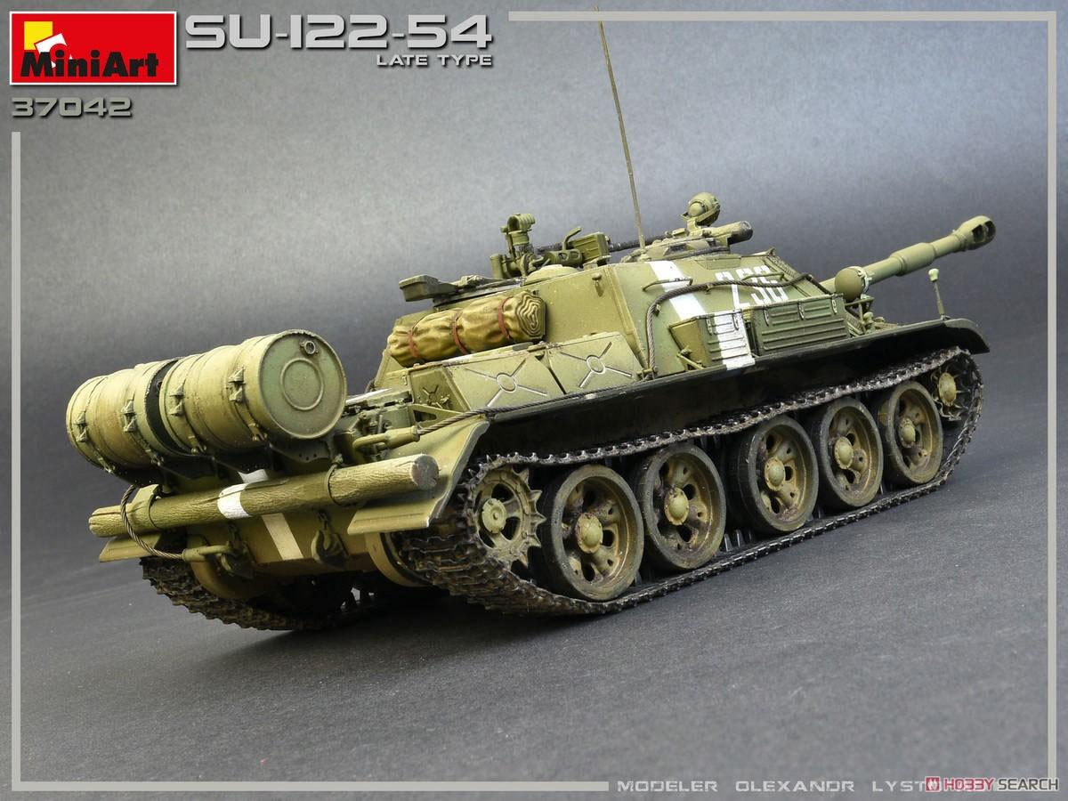 1/35『SU-122-54後期型』プラモデル-005