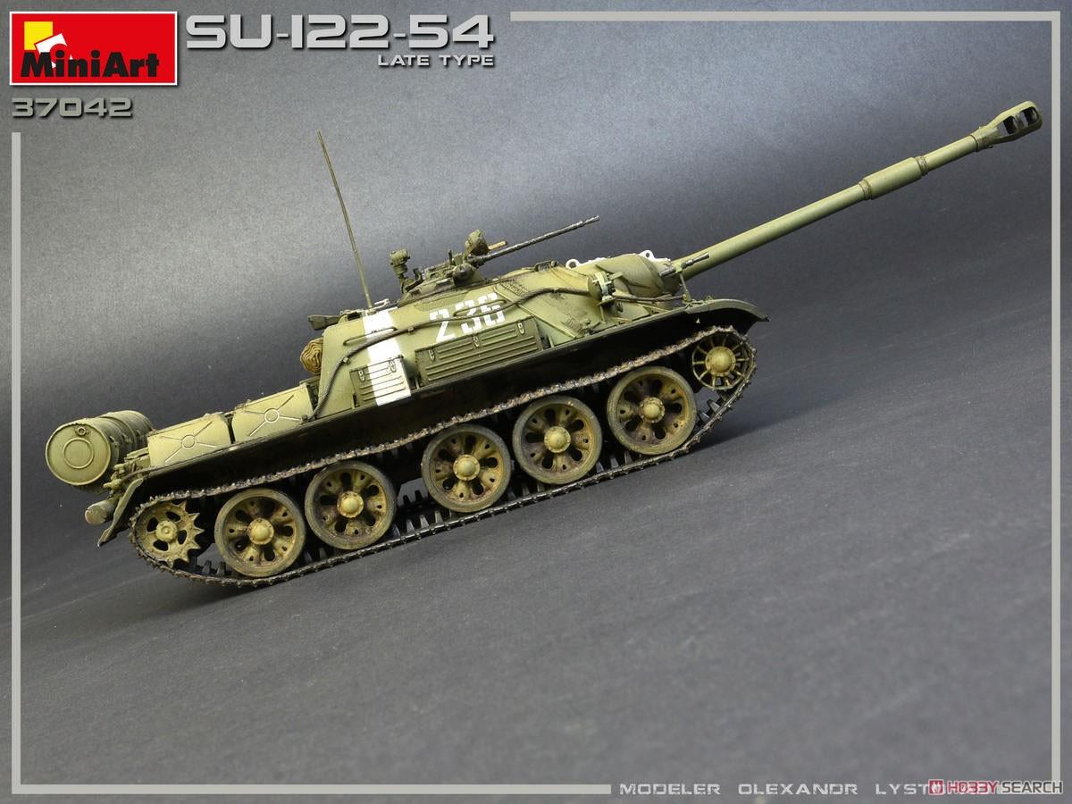 1/35『SU-122-54後期型』プラモデル-006