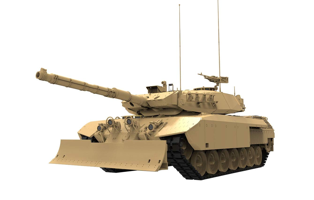 1/35『カナダ主力戦車 レオパルトC2 メクサス ドーザーブレード』プラモデル-001