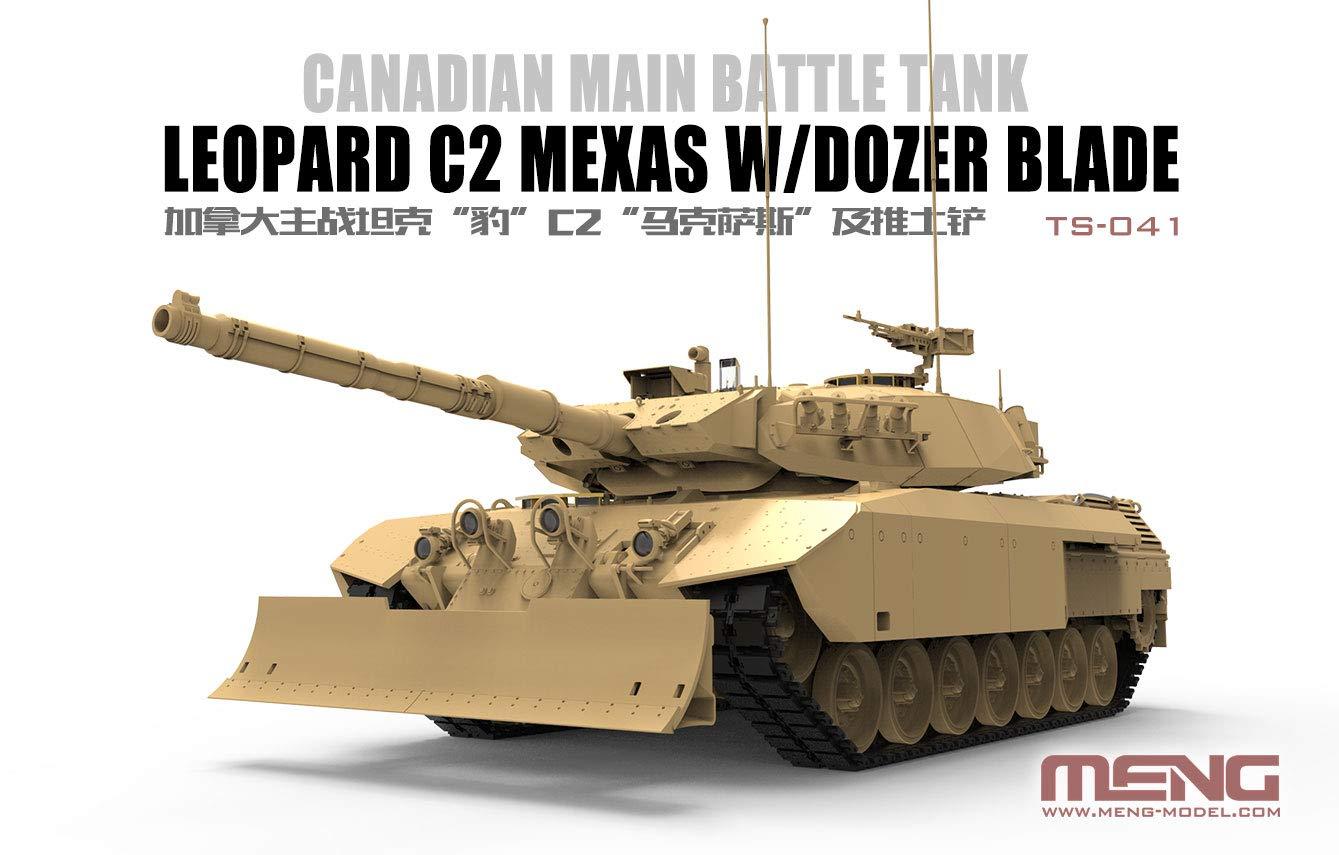 1/35『カナダ主力戦車 レオパルトC2 メクサス ドーザーブレード』プラモデル-002