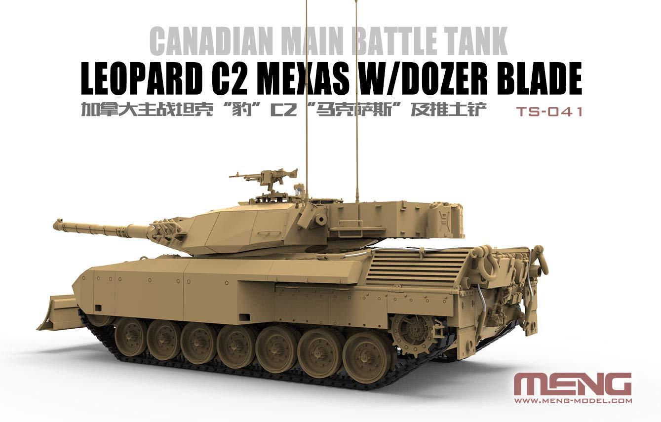 1/35『カナダ主力戦車 レオパルトC2 メクサス ドーザーブレード』プラモデル-003