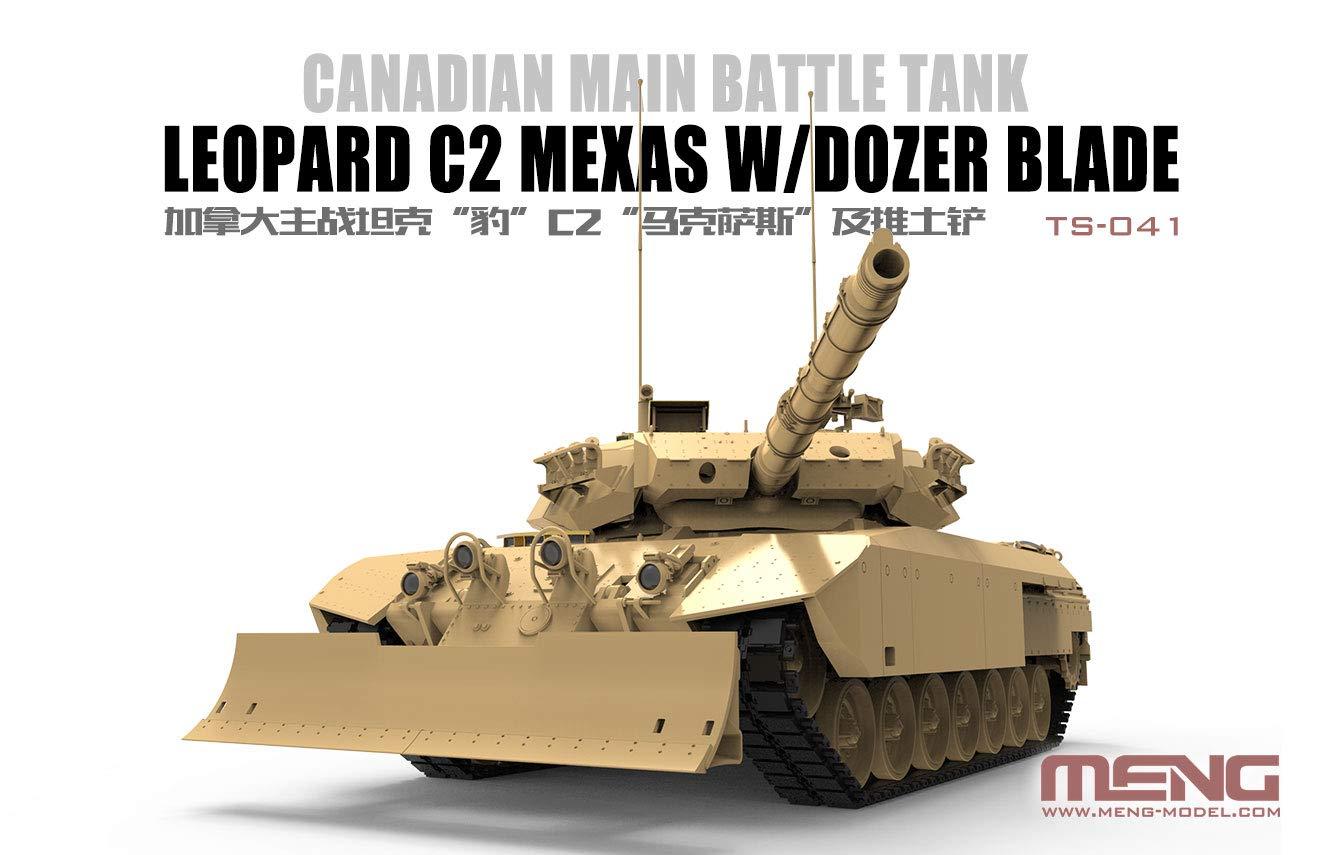 1/35『カナダ主力戦車 レオパルトC2 メクサス ドーザーブレード』プラモデル-004