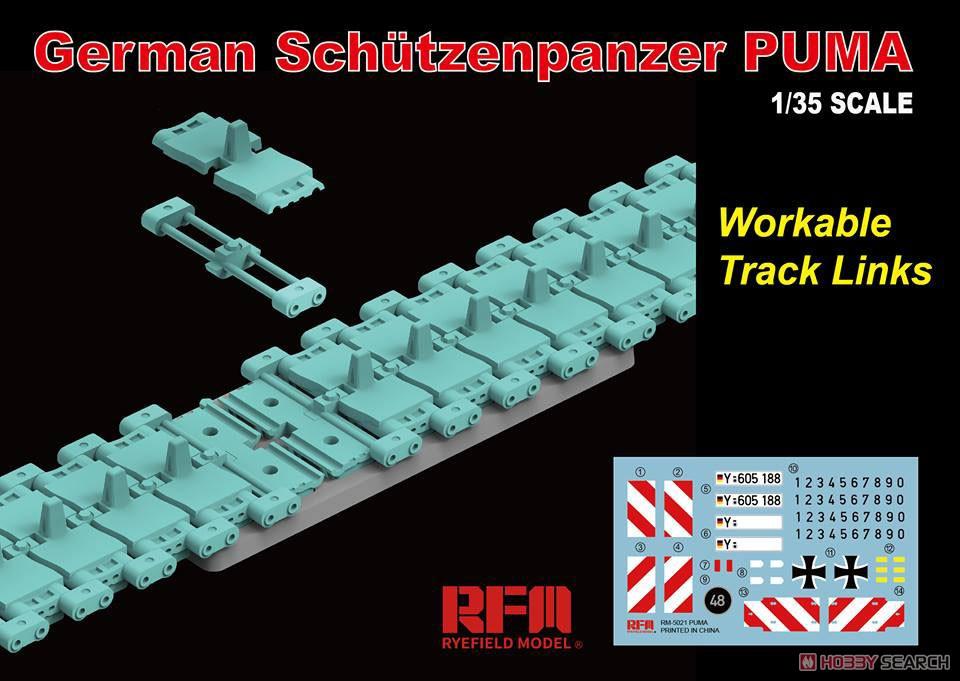 ドイツ連邦軍『プーマ 装甲歩兵戦闘車w/可動式履帯』1/35 プラモデル-005