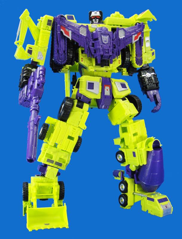 【再販】トランスフォーマー ユナイトウォリアーズ『UW-04 デバスター』合体可変可動フィギュア-001