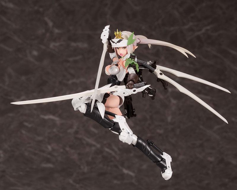 メガミデバイス コラボ『武装神姫 猟兵型エーデルワイス』1/1 プラモデル-001