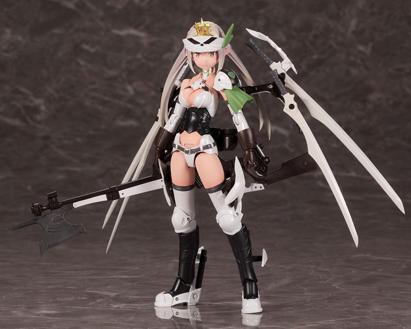 メガミデバイス コラボ『武装神姫 猟兵型エーデルワイス』1/1 プラモデル-002