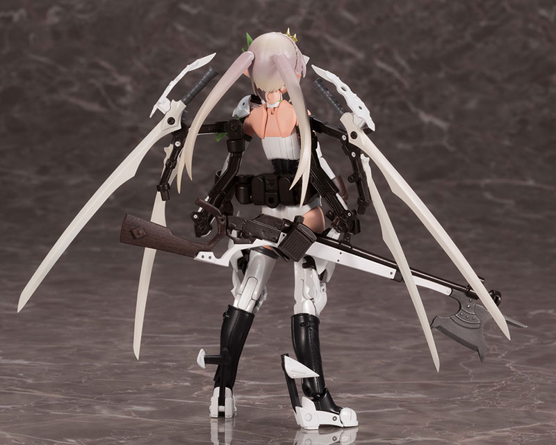 メガミデバイス コラボ『武装神姫 猟兵型エーデルワイス』1/1 プラモデル-003