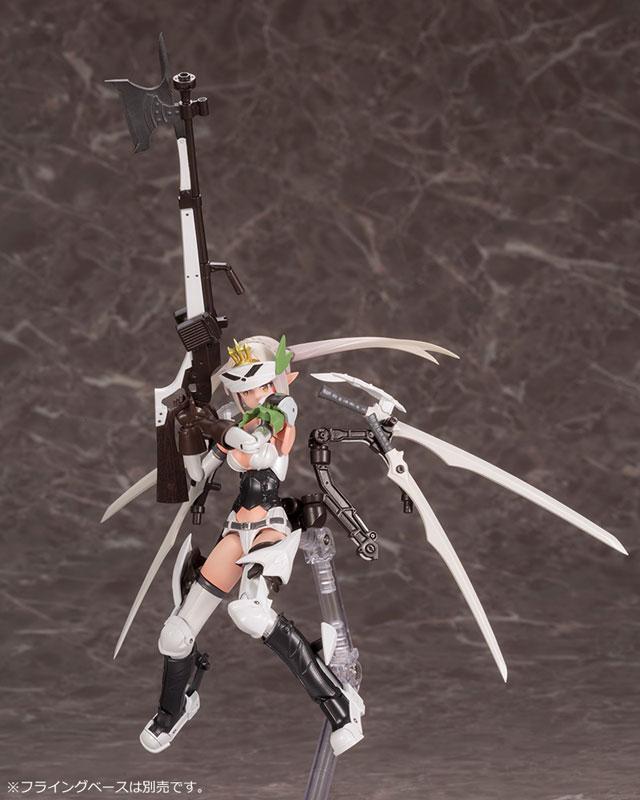 メガミデバイス コラボ『武装神姫 猟兵型エーデルワイス』1/1 プラモデル-004