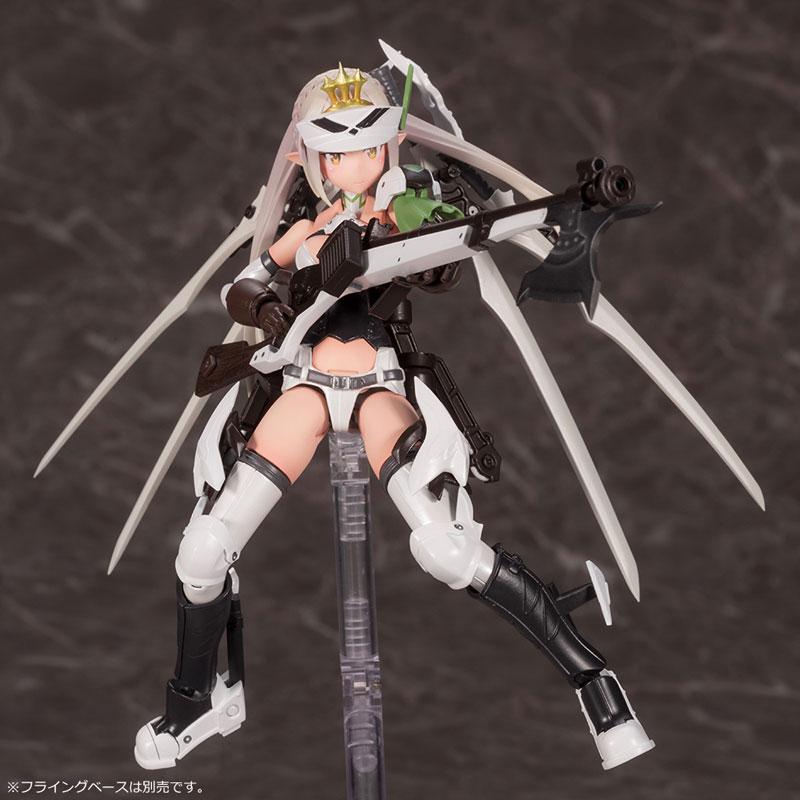 メガミデバイス コラボ『武装神姫 猟兵型エーデルワイス』1/1 プラモデル-008