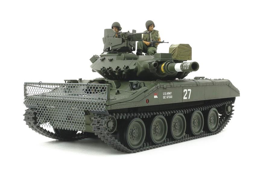 1/35『アメリカ空挺戦車 M551 シェリダン(ベトナム戦争)』プラモデル-002