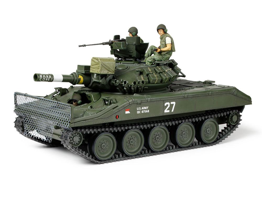 1/35『アメリカ空挺戦車 M551 シェリダン(ベトナム戦争)』プラモデル-003