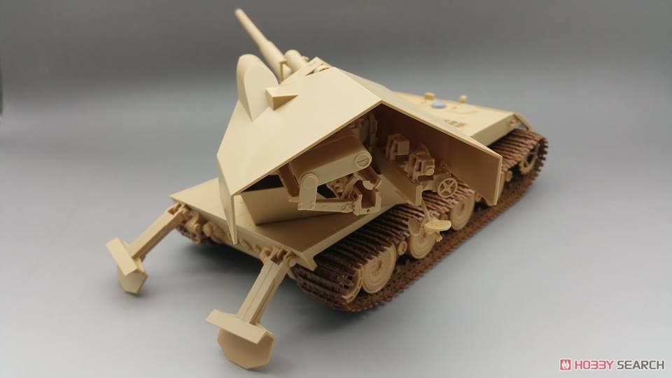 1/35『ドイツ ヴァッフェントレーガ AUF E-100』プラモデル-003