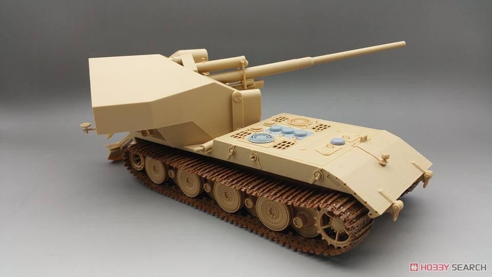 1/35『ドイツ ヴァッフェントレーガ AUF E-100』プラモデル-005