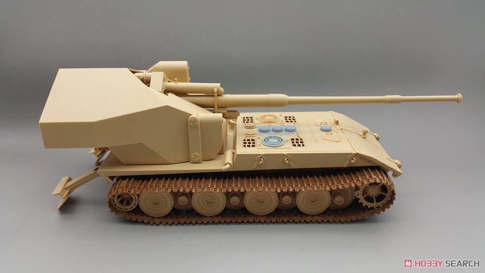 1/35『ドイツ ヴァッフェントレーガ AUF E-100』プラモデル-006