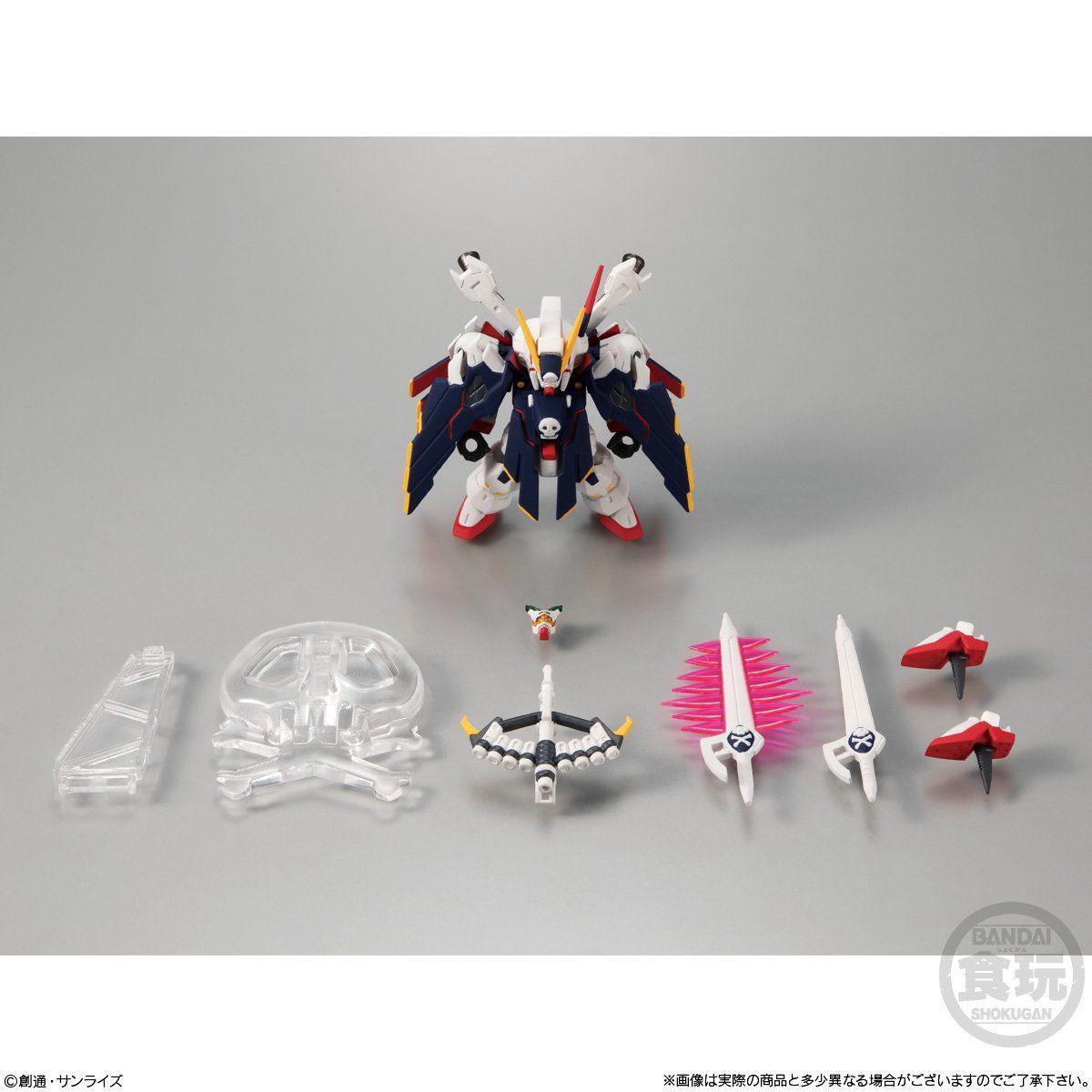【食玩】FW GUNDAM CONVERGE EX25『クロスボーン・ガンダムX1 フルクロス』完成品フィギュア-008