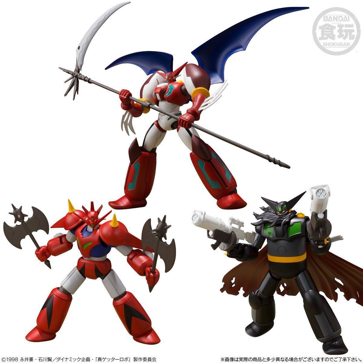 【食玩】スーパーミニプラ『真(チェンジ!!)ゲッターロボ Vol.2』3個入りBOX-001