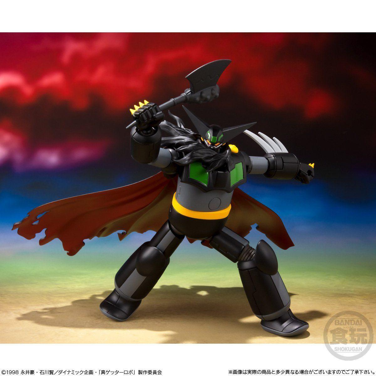 【食玩】スーパーミニプラ『真(チェンジ!!)ゲッターロボ Vol.2』3個入りBOX-002