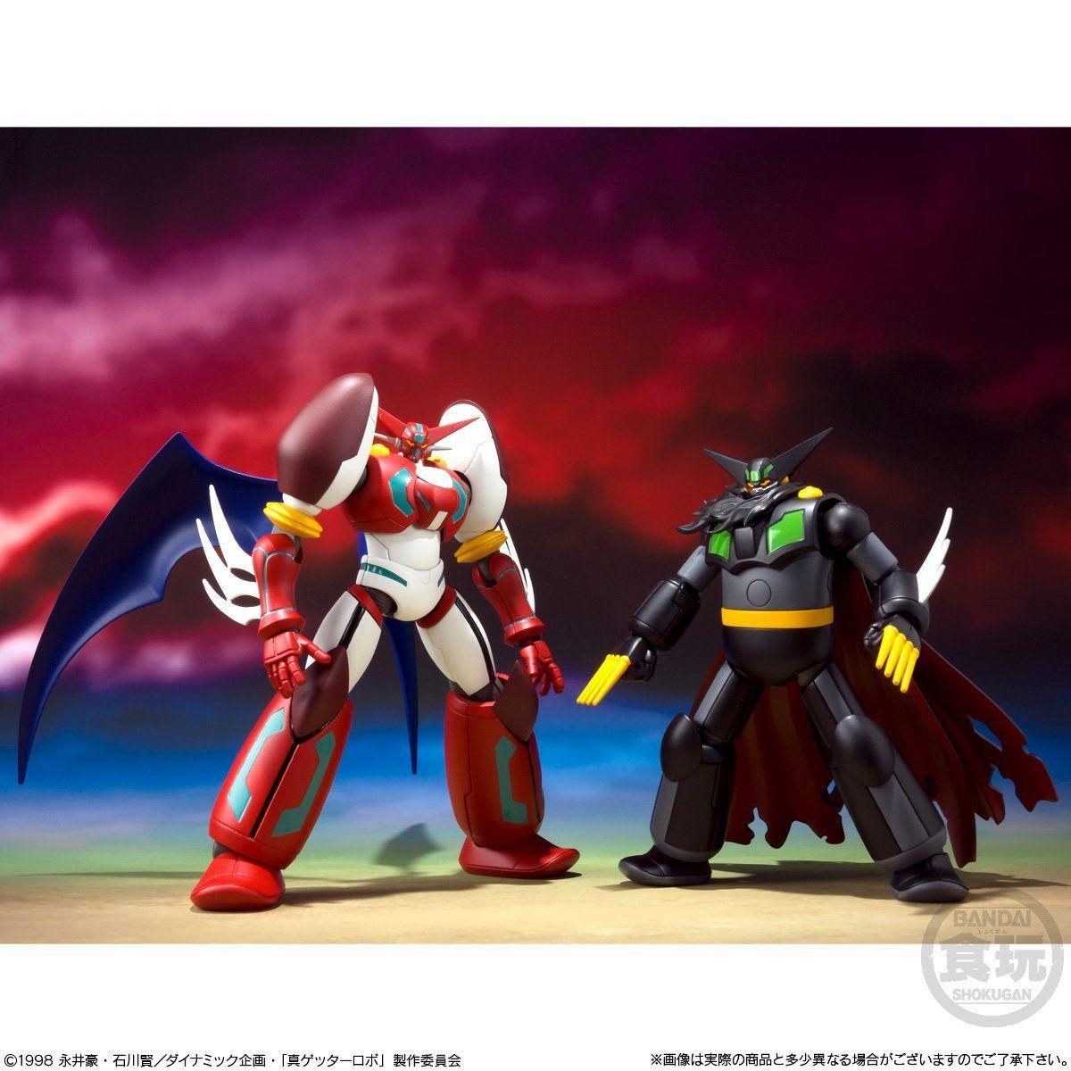 【食玩】スーパーミニプラ『真(チェンジ!!)ゲッターロボ Vol.2』3個入りBOX-003