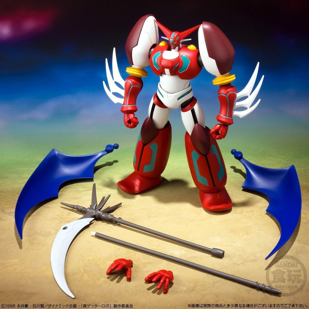 【食玩】スーパーミニプラ『真(チェンジ!!)ゲッターロボ Vol.2』3個入りBOX-004