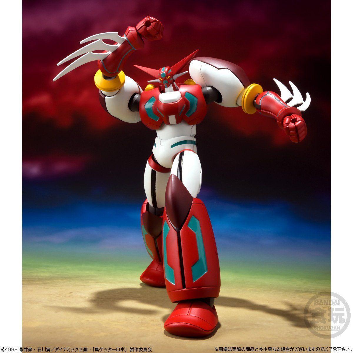 【食玩】スーパーミニプラ『真(チェンジ!!)ゲッターロボ Vol.2』3個入りBOX-008
