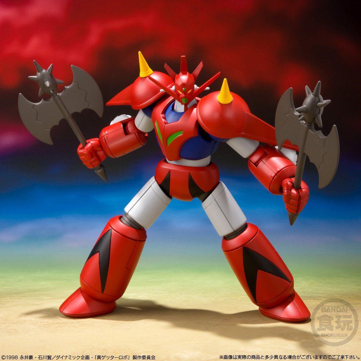 【食玩】スーパーミニプラ『真(チェンジ!!)ゲッターロボ Vol.2』3個入りBOX-009