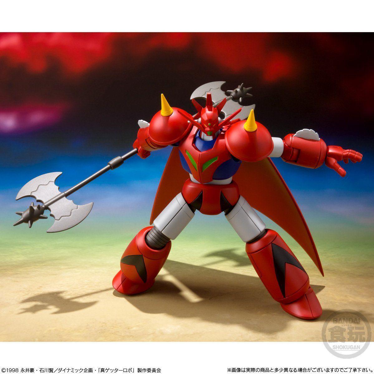 【食玩】スーパーミニプラ『真(チェンジ!!)ゲッターロボ Vol.2』3個入りBOX-010