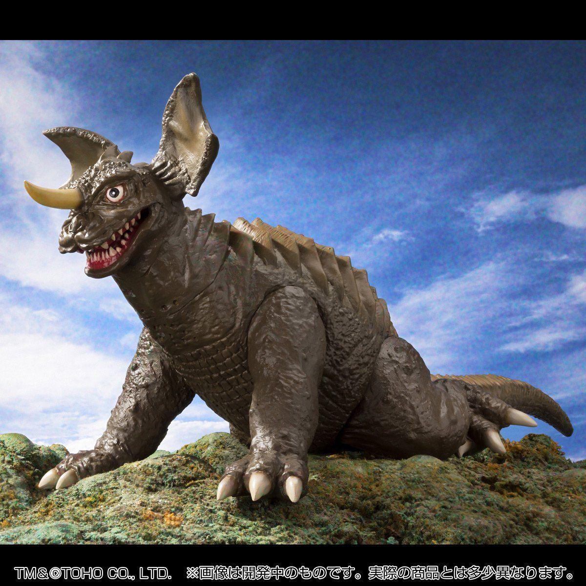 怪獣番外地『地底怪獣バラゴン』ソフビ フィギュア-004